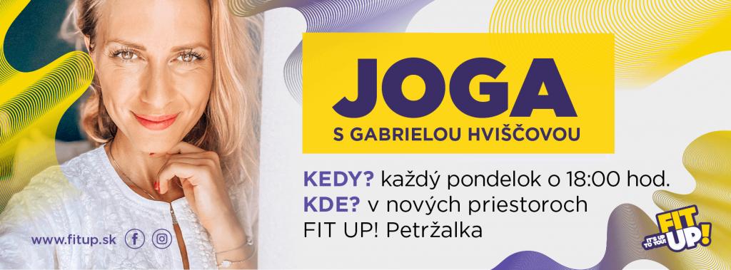 HATHA FLOW JOGA s Gabriela Hviščová